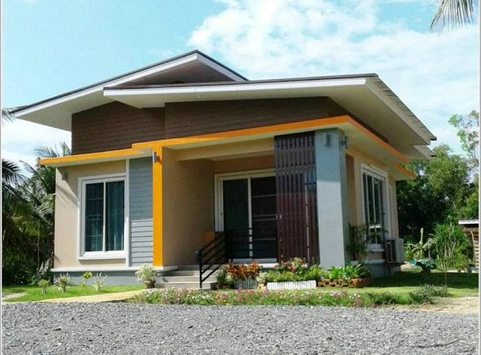 Simple Two Bedroom Bungalow Design Pinoy House Plans Small Corner Lot House Plans Camiladecor Co Uniq In 2020 Unique House Design Bungalow Design Simple House Design