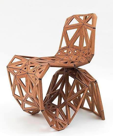 Polygon chair shape| modern design|www.bocadolobo.com/ #modernchairs #luxuryfurniture #chairsideas
