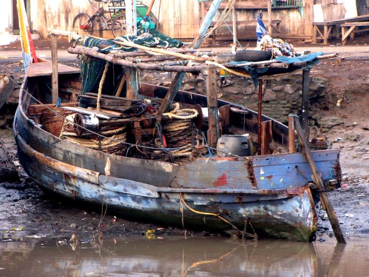 Kapal Tua. Pelabuhan Pasuruan Indonesia