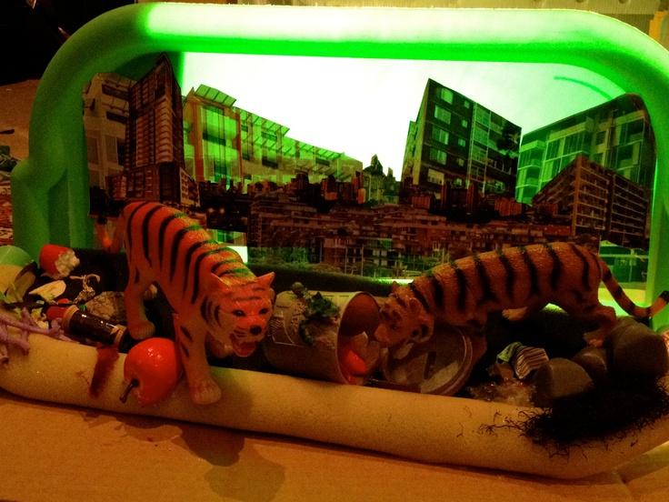 Goodbye Tiger Diorama by Merryl Key 2013