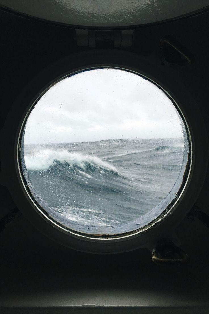 Mar desde el camarote