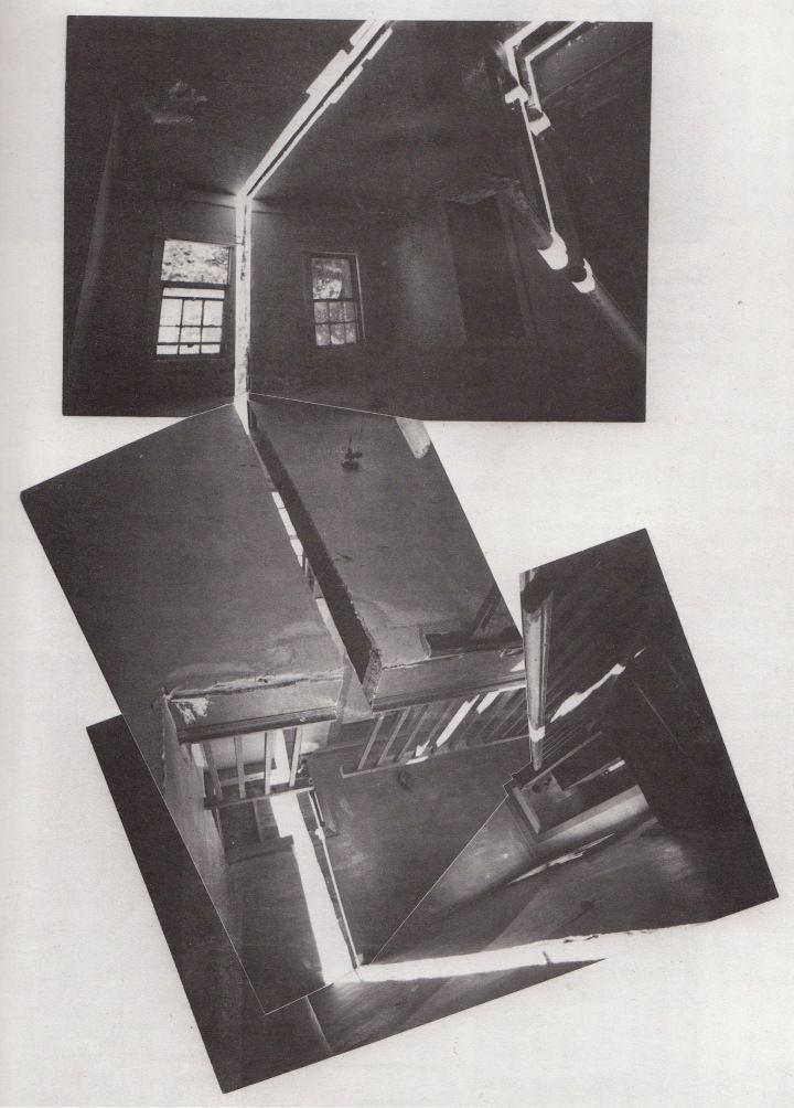 "GORDON MATTA-CLARK, SPLITTING 1974: love ""history of our world,"" love distorted space."