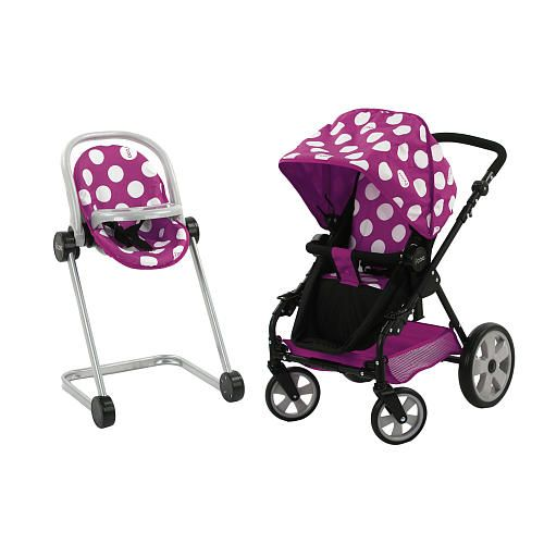 I Coo Realistic Doll Stroller Amp High Chair Set Review