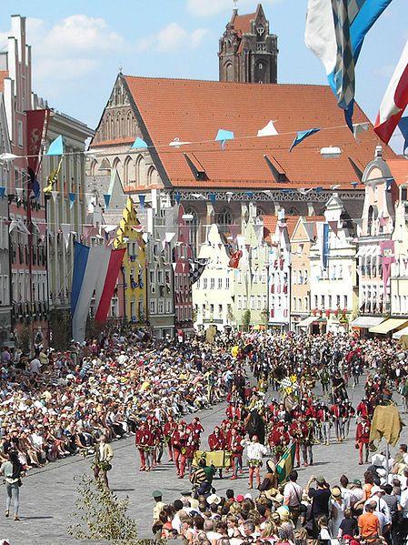 Landshuter Hochzeit #Niederbayern #Germany #culture