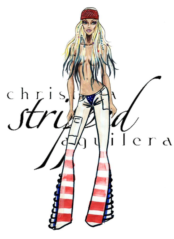 The Christina Aguilera Eras - Stripped - by Armand Mehidri