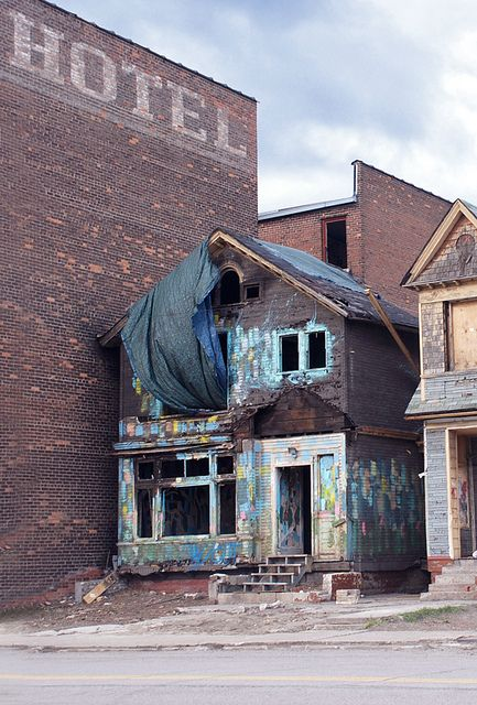 Detroit. Prior to the fire in Fall 2012 at Imagination Station Wow! This is what used to be next to our Urban Put Put