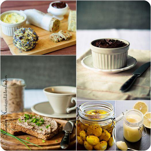 Geschenke aus der Küche (Brotaufstriche)