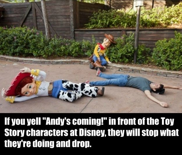 You freaked out when you first heard about this: | 25 Signs You Grew Up With Disney ~ 1) Love this post! Yeah, heartwarming. :) 2) I so want to try this when I go to Disneyland again!! Hope I'll be brave enough...LOL.