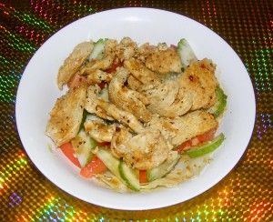 Sri Lankan Chicken Salad