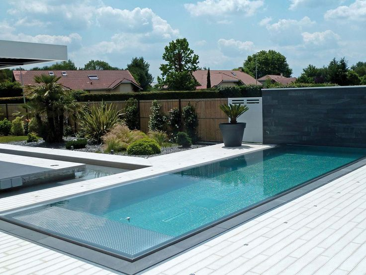 14 best Piscines miroir images on Pinterest Swiming pool, Dream - prix veranda piscine couverte
