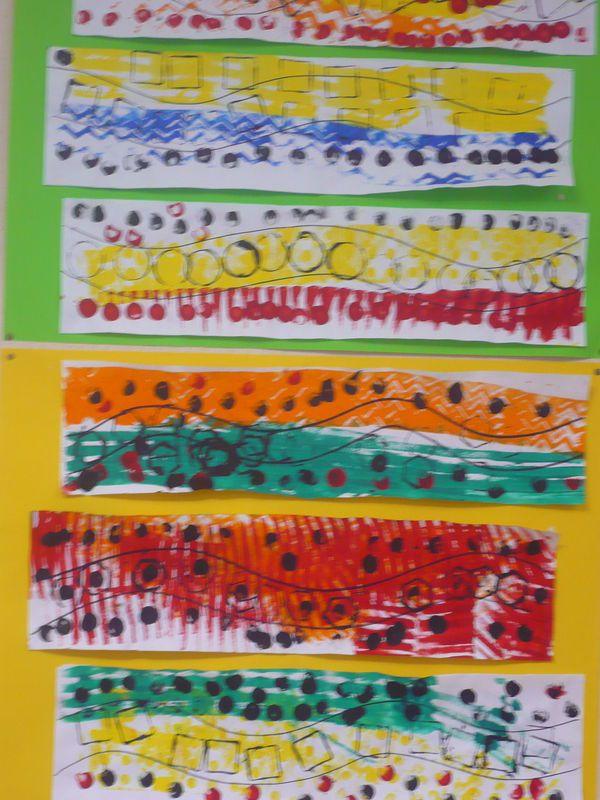 Empreintes (Petite Section) - Pinceau Mousse