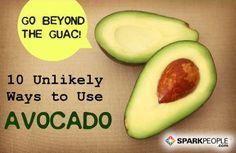 YUMMMMMMY! 10 Recipes for Avocado Lovers | via @SparkPeople #recipe #food #healthy
