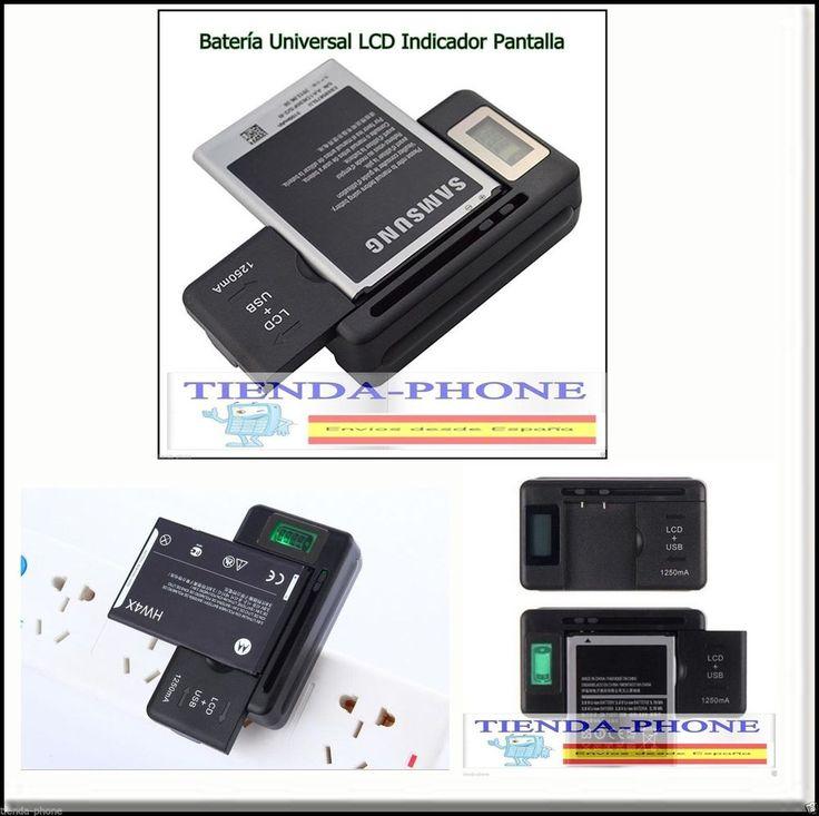 CARGADOR EXTERNO BATERIA universal USB para móvil, cámara Samsung, Sony, Huawei,