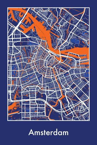 12 Stylized Maps That Express The Beauty Of Cities