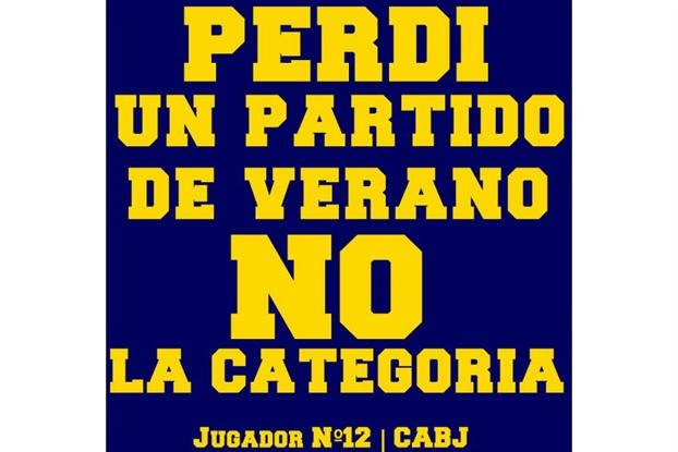 Boca respondió con afiches tras la derrota en el superclásico de verano - canchallena.com