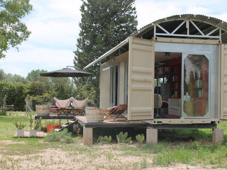 M s de 1000 ideas sobre casas contenedores en pinterest - Casa hecha con contenedores ...
