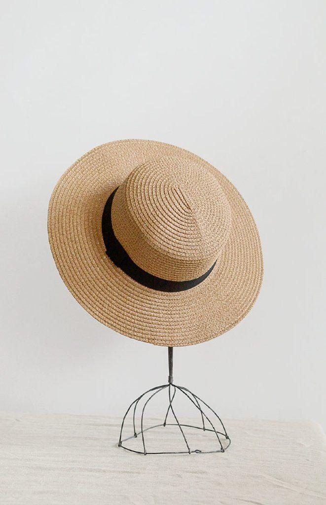 34e1216de Pierre Boater Hat in 2019 | Shop - Miscellaneous | Boater hat, Hats ...