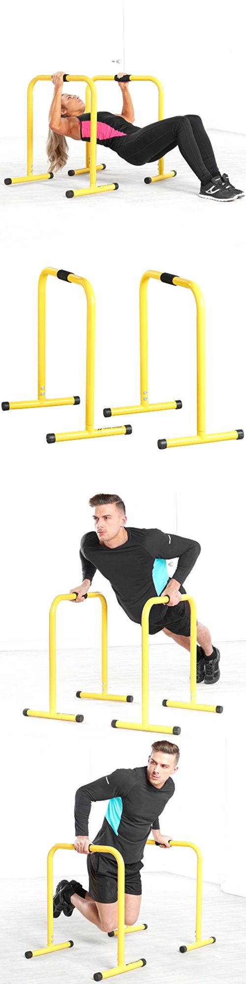 Pull Up Bars 179816: Parallel Fitness Bars Dip Stands, Gymnastics, Crossfit Mma Body Weight Training -> BUY IT NOW ONLY: $104.28 on eBay!