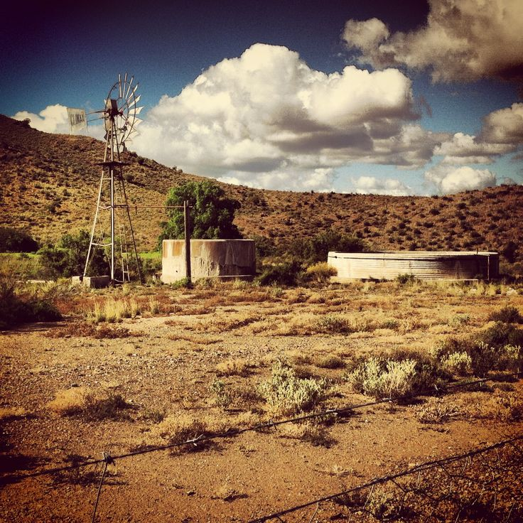 Between here and nowhere in the Karoo.