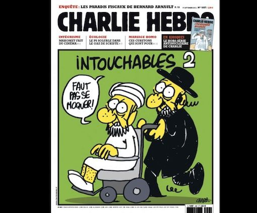 Charlie Hebdo on Jews and Muslims