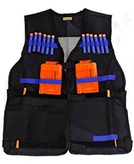 #vcmblog #amazon #affiliate #christmas #kids #gift #ideas #nerf #boy #present #santa  Yosoo Kids Elite Tactical Vest for EVA Nerf Gun N-strike Elite Series