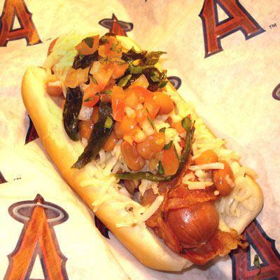 The Halo Dog — Anaheim Angels, Angel Stadium of Anaheim | The 16 Most Insane Stadium Foods Money CanBuy