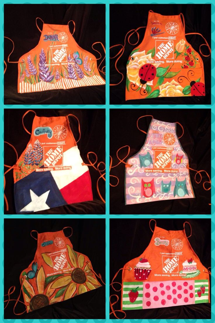 Home Depot Aprons By Courtney Rogers PAGE Www.facebook.com/lilmisstexan
