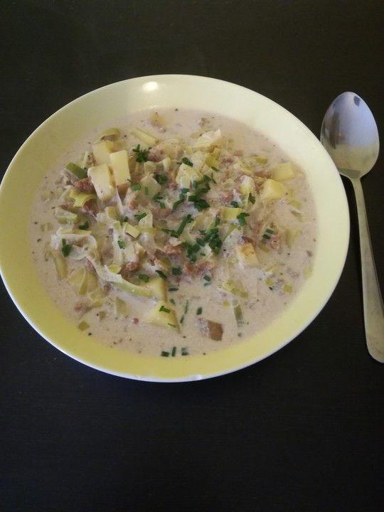 Más de 25 ideas increíbles sobre Rezept Käse Hack Lauch Suppe en - käse lauch suppe chefkoch