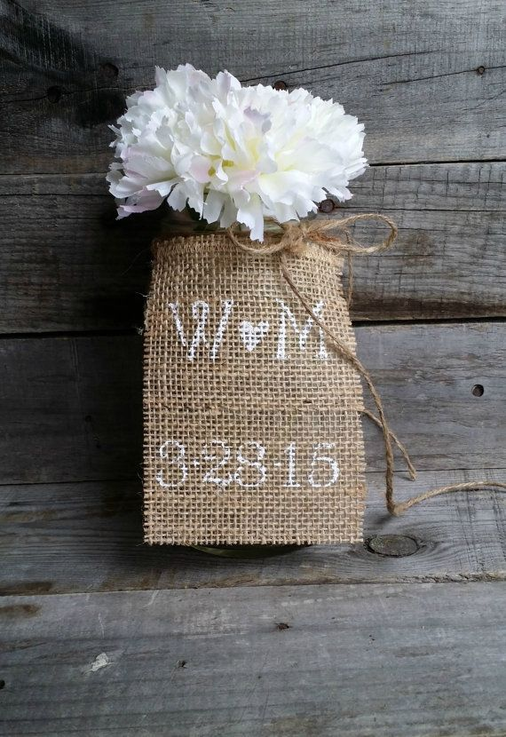 Personalized Burlap Tags