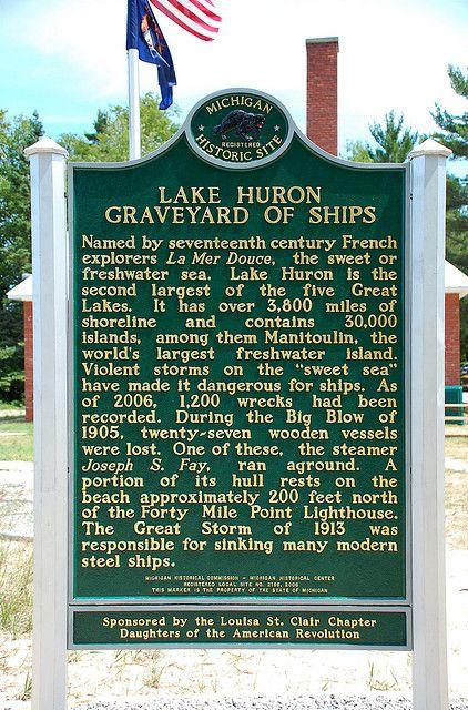 Lake Huron Shipwreck Maps | ... Collection Galleries World Map App Garden Camera Finder Flickr Blog