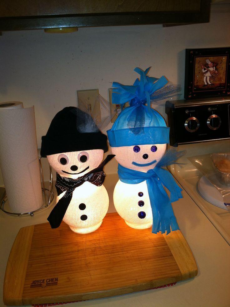 Snowman Crafts Pinterest