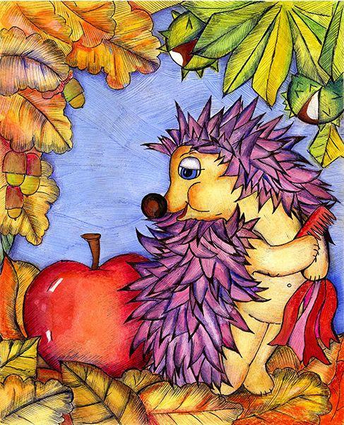 Jeżyk z grzebieniem