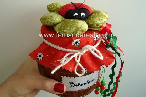 Joaninha na Cozinha feita pela Tania ArtPaz - Fernanda Reali