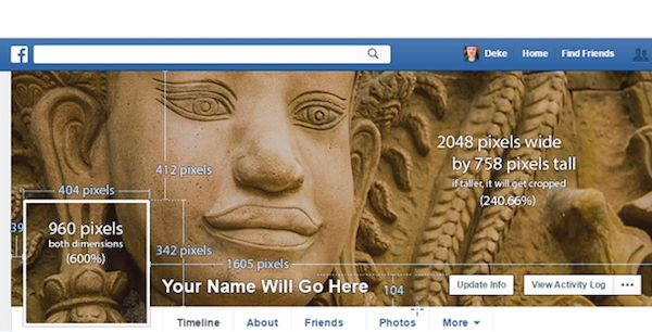 facebook cover photo size specifications
