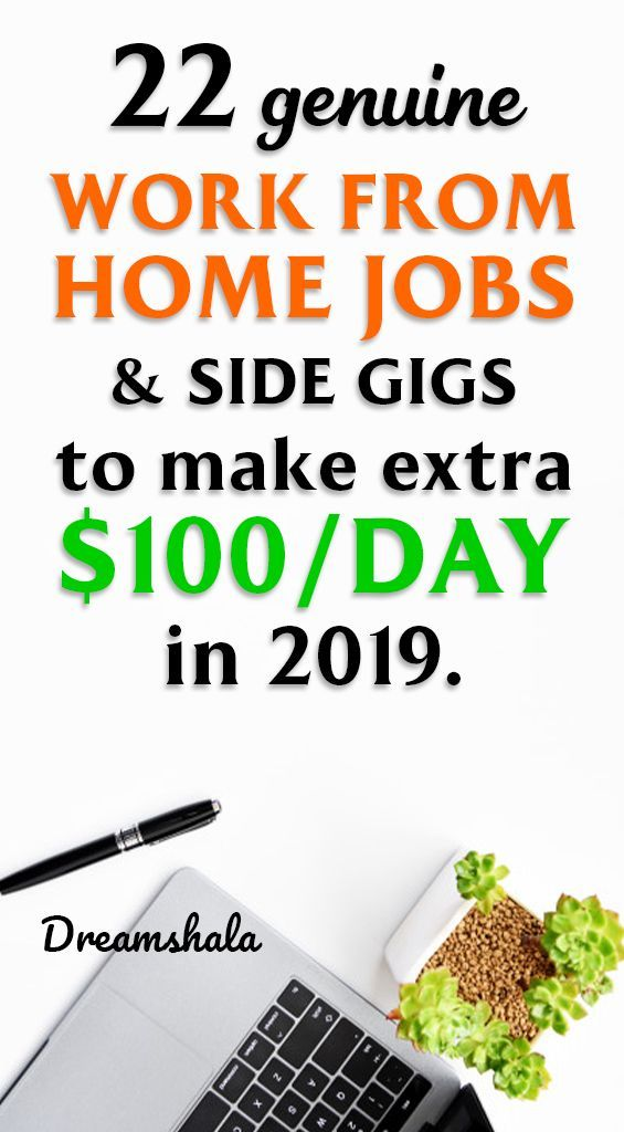 22 genuine work from home jobs and side gigs to ma…