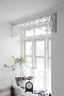 Gauzy curtain