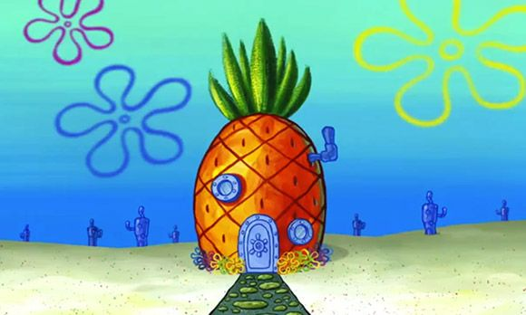 Spongebob S Pineapple Under The Sea Casa De Bob Esponja