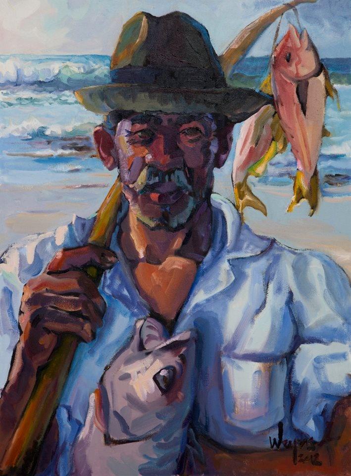Cultured Art --- 'Dolf' (and Arniston local) Artist Weyers