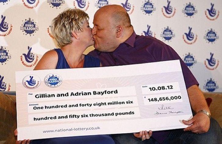 Se ganó la lotería se divorció y se casó con una mujer 17 años más joven. Ella lo dejó en la calle