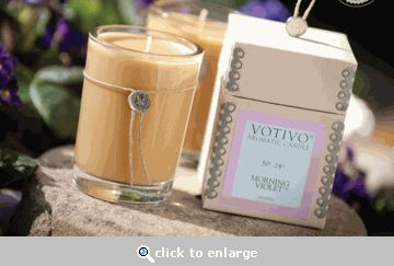 Votivo Candles - they have cedar and sage???
