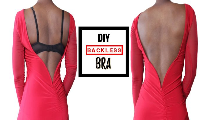 DIY: How To Make A Backless Bra (For All Boob Sizes!)