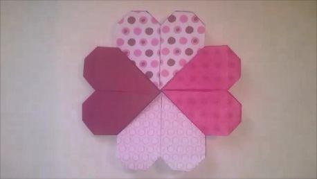 Anikó Dóbiász: Origami HEART Bookmark