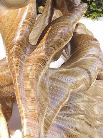 David Knopp Sculpture 2007 Baltic Birch Plywood