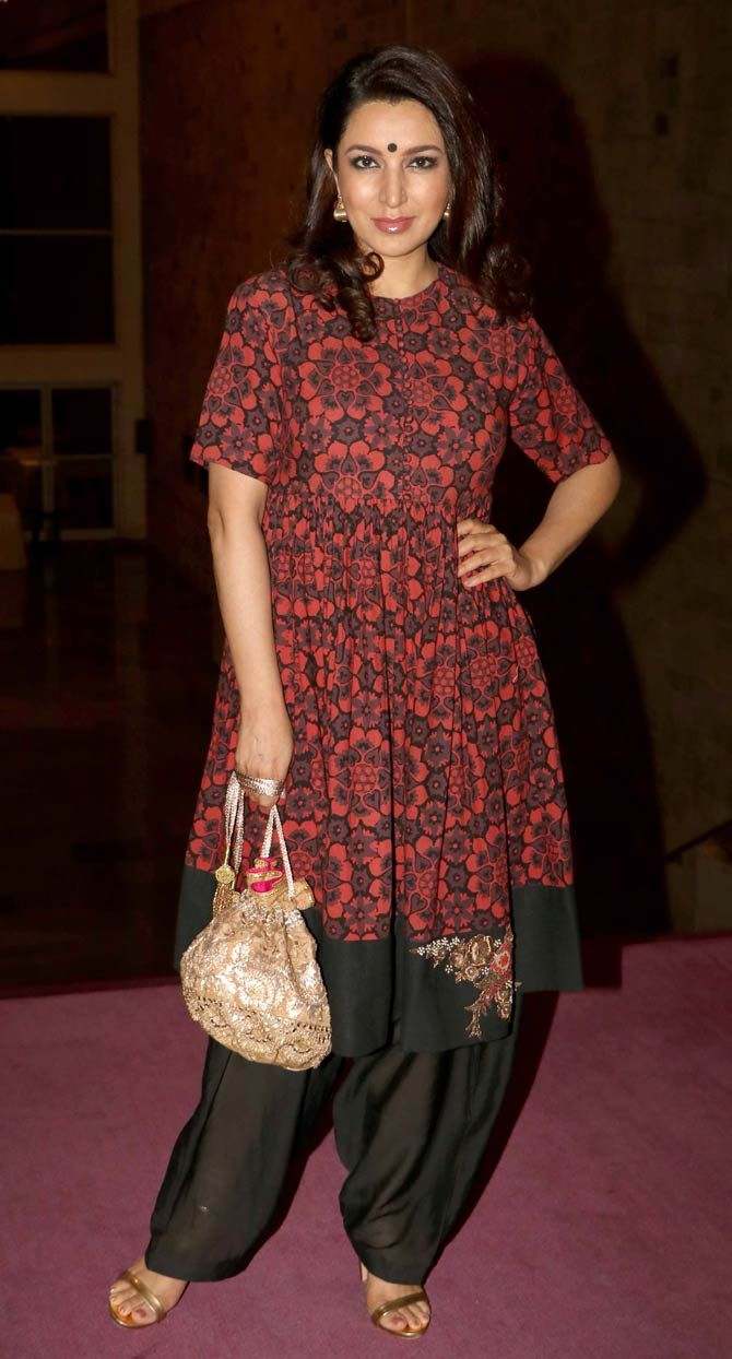 Tisca Chopra at the 7th National Laadli Media and Advertising Awards.