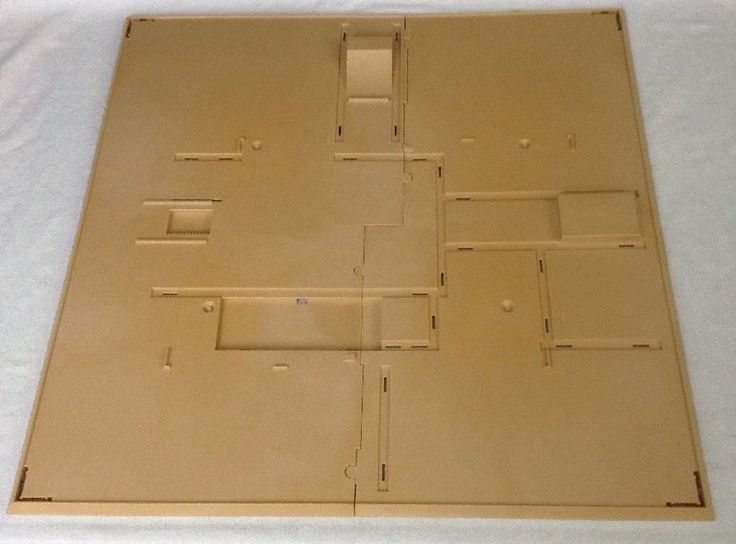 REPLACEMENT Playmobil Egyptian Pyramid # 4240 (2) Piece BASE Ground Bottom #PLAYMOBIL