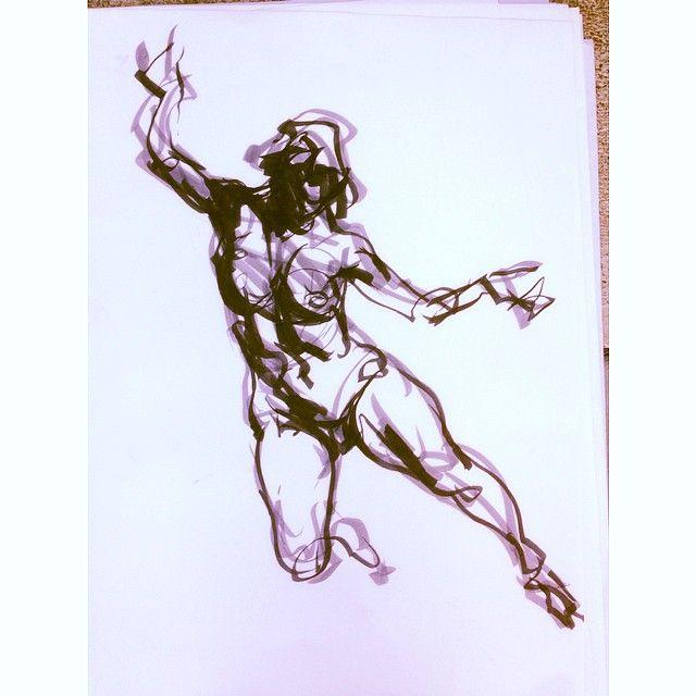 #karlgnass #ink #americananimationinstitute #sketch #drawing #classes #art #drawingfromtoptobottom