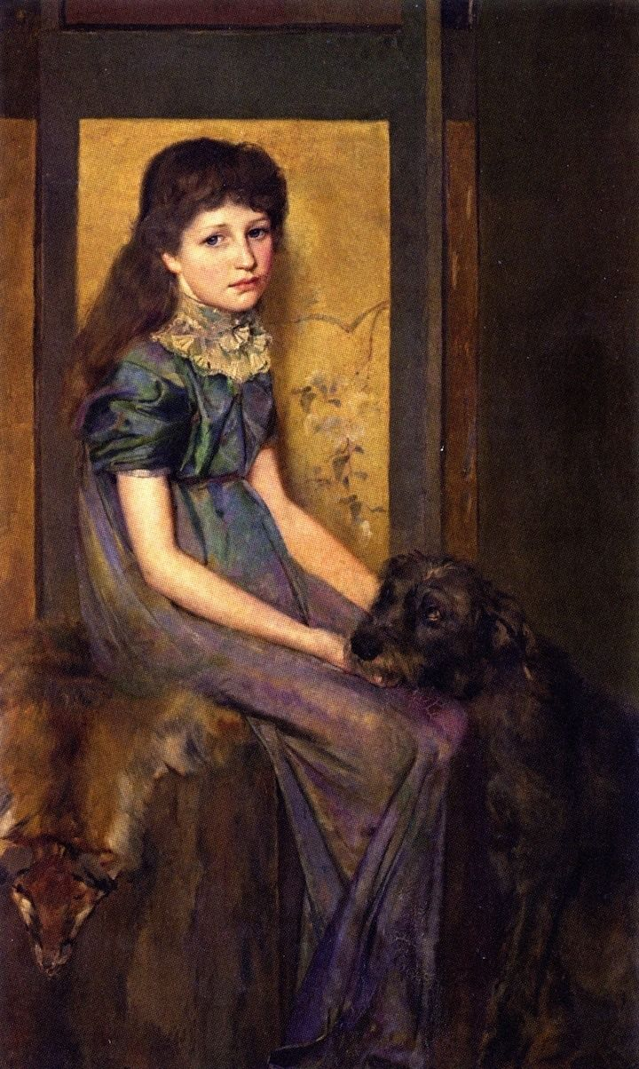 """⍕ Paintings of People & Pets ⍕ Tom Roberts 