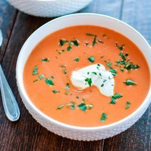 Easy Classic Creamy Tomato Soup