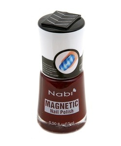 NABI BLACK BERRY MAGNETIC NAIL POLISHNail Polish, Magnets Nails, Nails Ideas, Nails Polish