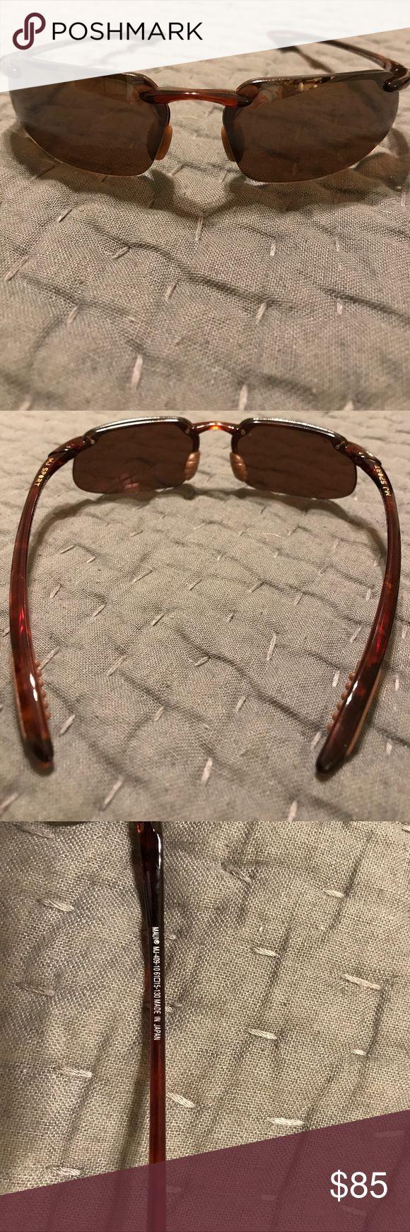 Maui Jim Sport Kahana Sunglasses Price reduced! Maui Jim Sport sunglasses in great condition. Tortoise frame, HCL bronze lenses. Original box, case and cleaning cloth included. Maui Jim Accessories Sunglasses